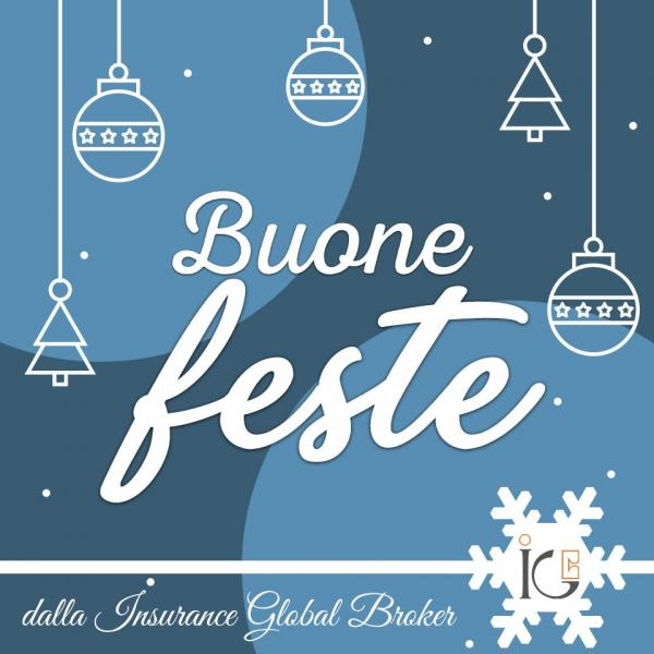 Buone Feste e felice #AnnoNuovo da IGB Insurance Global Broker